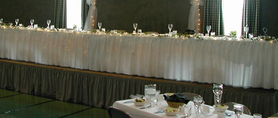 edding Head Table